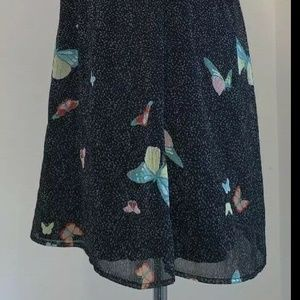 American Rag Dresses - American Rag Large Butterfly Chiffon Dress